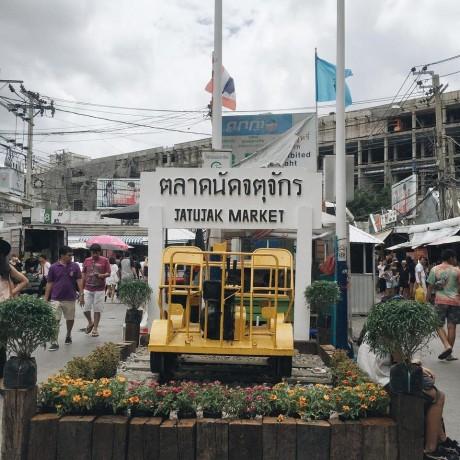ตลาดนัดจตุจักร-ป้าย สถานที่ท่องเที่ยวไทย