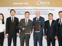 ONYX Hospitality Group และซินเซีย โฮลดิงส์ กรุ๊ป ร่วมเดินหน้ารุกขยายเครือชามาในประเทศจีน